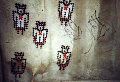 Lift Us Up (lomophobia) Tags: graffiti lomolca conspiracy faved ddneustadt