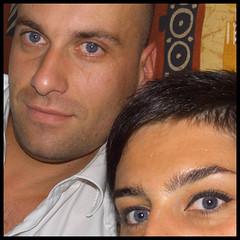 J'ai des yeux bleus quand j'veux ! (lavomatic) Tags: blue photoshop eyes yeux bleus