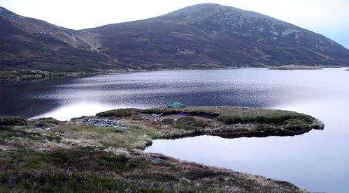 Campsite at Loch nan Eun