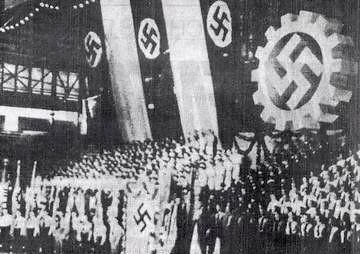 Acto Nazi en el luna park - 1939
