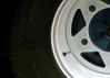Half a Wheel (Brett A. Fernau) Tags: car wheel vw part bajabug cdrxt deadeyebart brettfernau utatainhalf