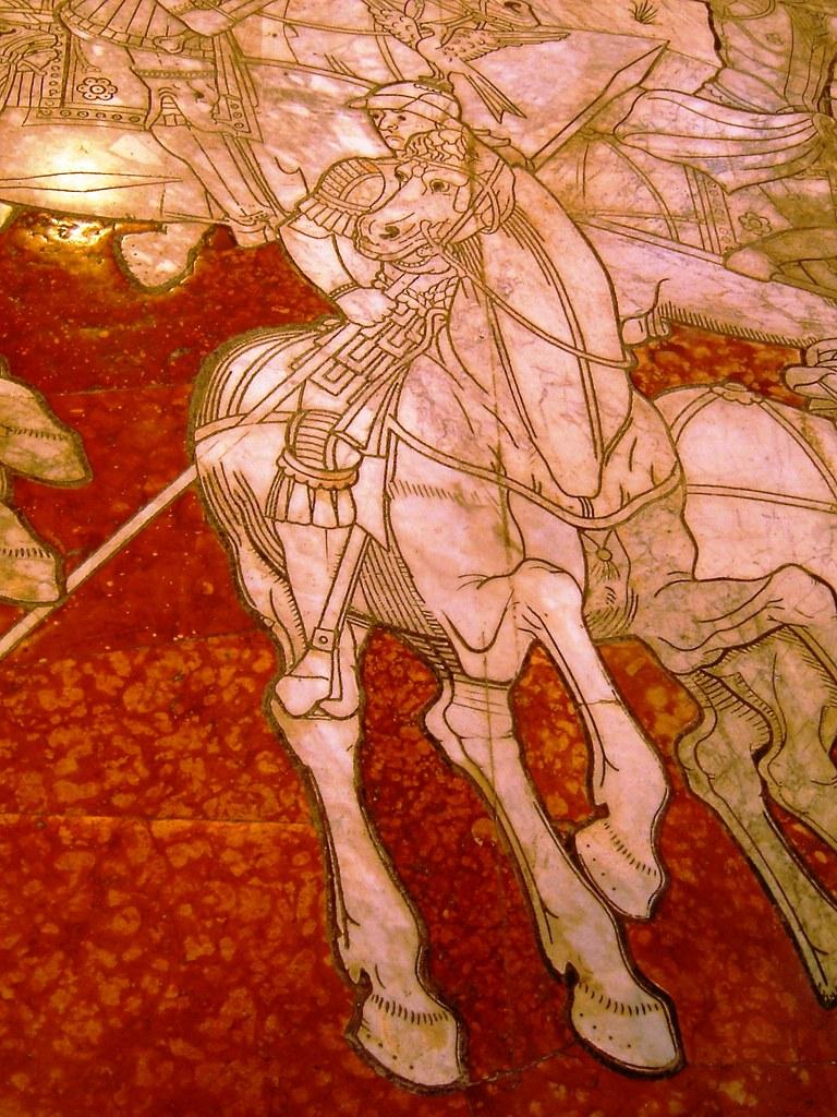 Mosaic floor, Duomo di Siena