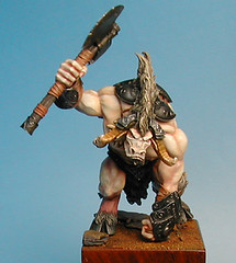 minotaure_01 (mixslug) Tags: miniature mini games workshop warhammer minotaur confrontation rackham illiad minotaure allancarasco