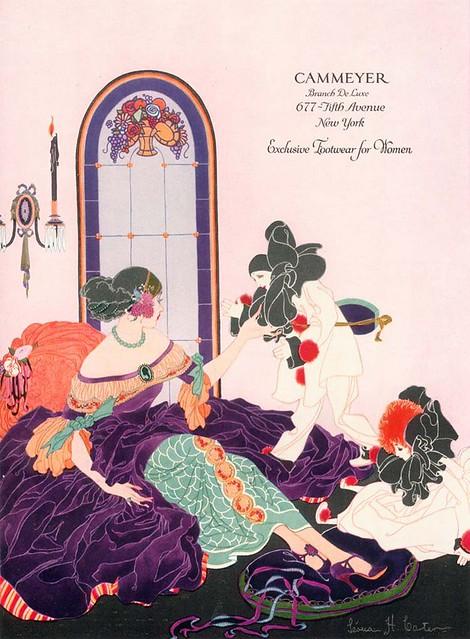 H . Carter, Cammeyer Footwear Ad, 1924