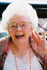 Audrey on her 100th Birthday!