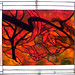 Stain Glass Autmn by Marty Sisk