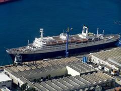 Gibraltar (Chris&Steve) Tags: cruise rock port harbor pier dock rotterdam marine europe mediterranean ship harbour cruising vessel maritime wharf cruiseship hal nautical shipping gibraltar hollandamericaline hollandamerica 10millionphotos rotterdamv v400i