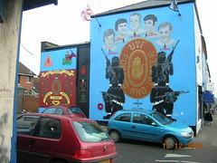 This is Belfast baby! (Tabike) Tags: street ireland art del mural belfast loyalist ira northern troubles protestant norte irlanda ulster uvf