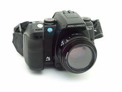 camera slr digital minolta collection 5d konica maxxum