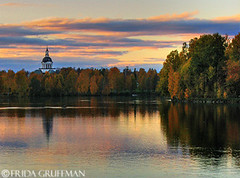 (~Frida*~) Tags: autumn fall church colors river evening colorful sweden scandinavia hdr norrland skellefte josse photomatix vsterbotten landskyrkan supershot outstandingshots specland skelleftelven hittaintressanta ultimateshot superbmasterpiece diamondclassphotographer flickrdiamond frhwofavs fridagruffman