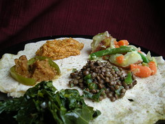 Ethiopian lunchy goodness