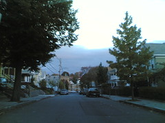 Berkeley Street, Wednesday 5:52 pm 10/18/06 Somerville, Massachusetts