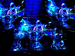 Eye On The TV (duncan.g) Tags: music drums tv 3d concert live danny tool carey flickers vicarious dannycarey toollive