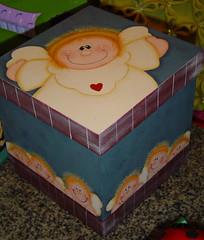 caixa de anjinhos