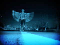 Moth Man (stopppit) Tags: longexposure surreal romania nightphoto lightning godfather mothman roumanie radauti suceava fsgmen abigfave artlibre creativeshotinvited thegodfatherfamily rdui