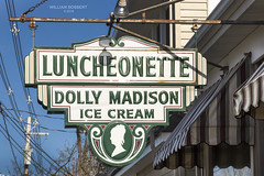 Dolly Madison Ice Cream sign on Main St. Lebanon NJ (bozartproductions) Tags: lebanonnj lebanon dolly madsion ice cream luncheontte main street usa shop sign vintage signs road side signporn hunterdon county