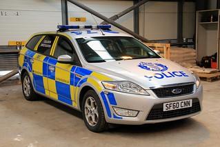 Police Scotland Ford Mondeo Collision Investigation Unit