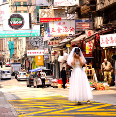 Marry me (Alexis Foissy Photography) Tags: wedding weddingdress bride mariée unusual canon 7dmarkii portrait street streetphotography artderue light mariage asia asie hongkong frau donna beautiful love woman