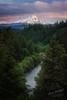 Hood River (Gary Randall) Tags: gar88262 oregon mthood mounthood river hoodriver landscape sunset forest