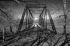 Iron Bridge (david.horst.7) Tags: bridge structure iron wrought truss rivets bw blackandwhite