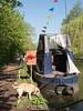 20180506-Berkhamsted_002-55 (Jackie_Emm) Tags: berkhamsted canalandrivertrust floatingmarket hertfordshire herts market boat canal dayout narrow