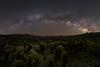 Cholla Cactus Garden Milky Way Panorama (RyanLunaPhotography) Tags: california fuji fujifilm joshuatree nationalpark socal southerncalifornia xt2 astrophotography cactus desert landscape milkyway night nightscape rokinon 21mm