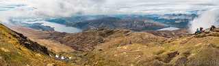 Panorana from the summit of Ben Lomond