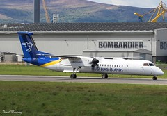 Air Iceland Connect Dash-8 TF-FXB (birrlad) Tags: belfast bhd city airport north ireland aircraft aviation airplane airplanes airline airliner airlines airways airicelandconnect bombardier dash8 q400 tffxb turboprops prop keflavik faxi ny5511 taxi taxiway takeoff departing departure runway flugfelagislands