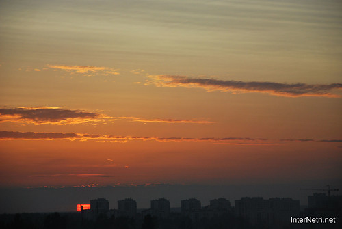 Небо Захід сонця InterNetri Ukraine  26