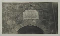 A memorial plate in the stone wall of the bastion in Kustaanmiekka. (The Gallen-Kallela Museum) Tags: suomenlinna sveaborg suomi finland linnoitus fortress linnake bastion plate muistotaulu