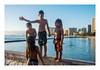 four kids on Waikiki (philippe*) Tags: waikiki
