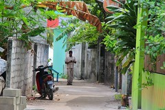 The Local villager - (cattan2011) Tags: buildings architecturephotography architecture 马尔代夫 traveltuesday travelphotography travelbloggers travel streetpicture street streetphoto streetphotography streetart landscapeportrait landscape maldives hangnaameedhoo