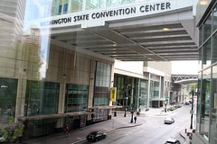 WASHINGTON STATE CONVENTION CENTER (PINOY PHOTOGRAPHER) Tags: seattle city washington state convention center united states america usa wow perfect angle view picturesque smorgasbord trek lines curves scene portrait angles frame image wonderful picture photography art flickr trip tour travel world color pov framing amazing popular interesting canon choice camera work top famous significant important item special topbill light creation awesome visual viajar litrato larawan line curve like
