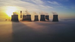 Ratcliffe On Soar (Sam Tait) Tags: towers cooling powerstation drone dji djispark