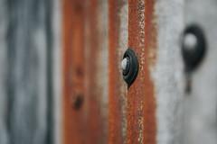 any old iron... (Jess Feldon) Tags: hff happyfencefriday fence iron metal texture rust colours dof depth jessfeldon focus blur