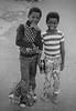 Two Boys With Coke Bottles (czolacz) Tags: boys coke cocacola atlanta 1977 street posing shy nicepants buckteeth cute smile smiles monochrome blackandwhite eyes
