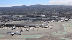 San Francisco International Airport (A Sutanto) Tags: sfo ksfo airport aerial view window seat san francisco international