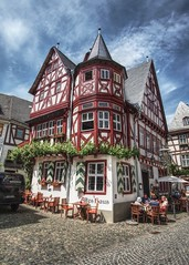 Altes Haus (Parchman Kid (Jerry)) Tags: altes haus bacharach germany parchmankid sony a6000 ilce6000 samyang12mm old house wine rest historic