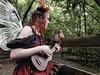 Fairy Serenade (clarkcg photography) Tags: fairy song uke ukulele fantasy fantasyforest magical talent sing wind mistralwind