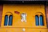 Window (Tony Shertila) Tags: po architecture azura azuracruise building cathedral europe italy leaningtower leaningtowerofpisa pisa tower vacation window coatoarms umber sienna