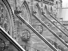 Kathedrale (kurzkarl74) Tags: frankreich strasbourg kathedrale kirche strebebögen fenster wasserspeier münster sw