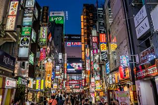 Shinjuku Neon Streets