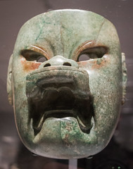 IMG_1754 (jaglazier) Tags: 2018 32518 900bc400bc adults archaeologicalmuseum artmuseums crafts gods goldenkingdomsluxuryandlegacyintheancientamericas gravegoods march masks men mesoamerican metropolitanmuseum mexican mexico museums newyork offerings olmec precolumbian religion rituals specialexhibits stoneworking usa veracruz archaeology art burialgoods copyright2018jamesaglazier funerary jadeite sculpture unitedstates