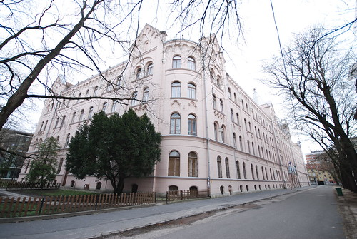 The Building of the Faculty of Arts of Szeged University, North-East View