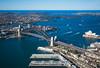..The Bridge... (SpaceCadet37) Tags: sydney australia sydneyharbourbridge sydneyoperahouse mariobekes canon aerial mariobekesphotography ocean bridge