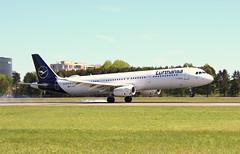 Lufthansa, D-AISP,MSN 3864,Airbus A 321-231, 06.05.2018,  HAM-EDDH, Hamburg (New color) (henrykkonrad) Tags: lufthansa daisp airbus a321 newcolor hameddh hamburg konradhenryk