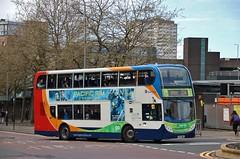 GO Enviro-Scania (X34) (15817) (Strathclyder) Tags: stagecoach western stagecoachwestern scania n230ud alexander dennis adl enviro 400 e400 sf12 hwp sf12hwp 15817 killermont street buchanan bus station glasgow scotland ardrossan