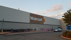 Off-center (Retail Retell) Tags: olive branch ms walmart goodman road i22 hwy 78 craft desoto county retail project impact remodel classic decor remnants black 20 22 exterior repaint