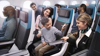 West Jet - economy service