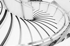 Modus Operandi (Douguerreotype) Tags: london geometric monochrome stairs blackandwhite steps uk urban british mono geometry spiral city architecture britain gb bw helix england